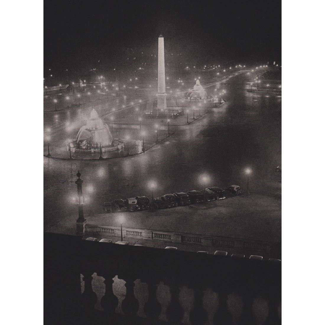BRASSAI - Place de Concorde