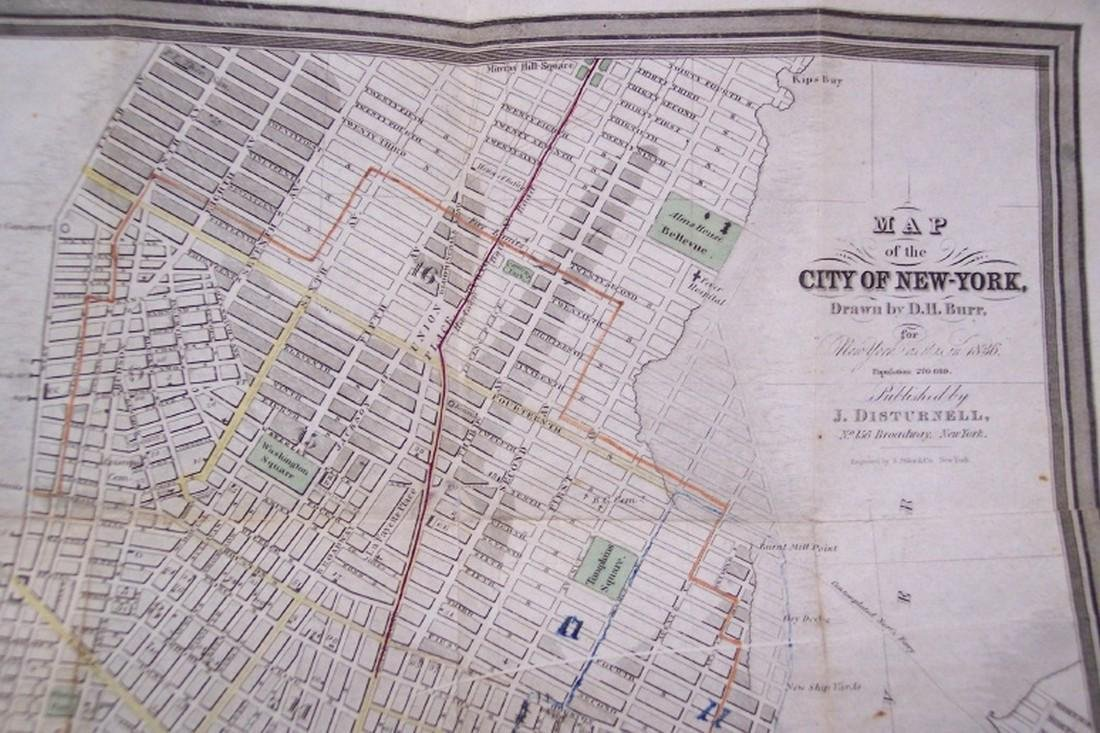 Map of the City of New-York, - 4