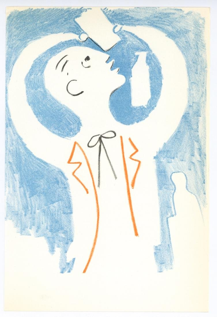 Jean Cocteau original lithograph | Theatre de Poche