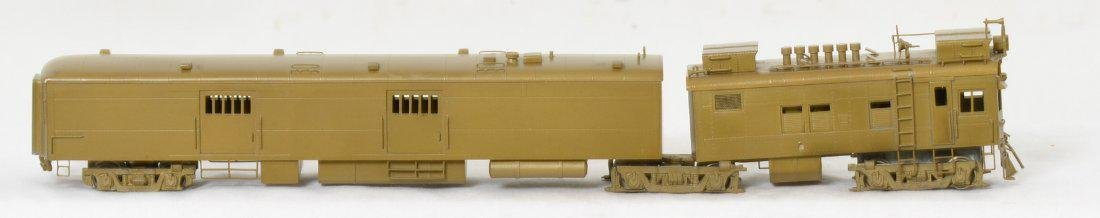 Hallmark ATSF M190 gas electric locomotive, brass, HO - 2