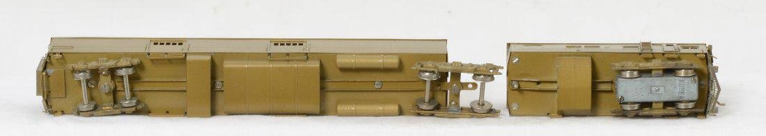 Hallmark ATSF M190 gas electric locomotive, brass, HO - 4
