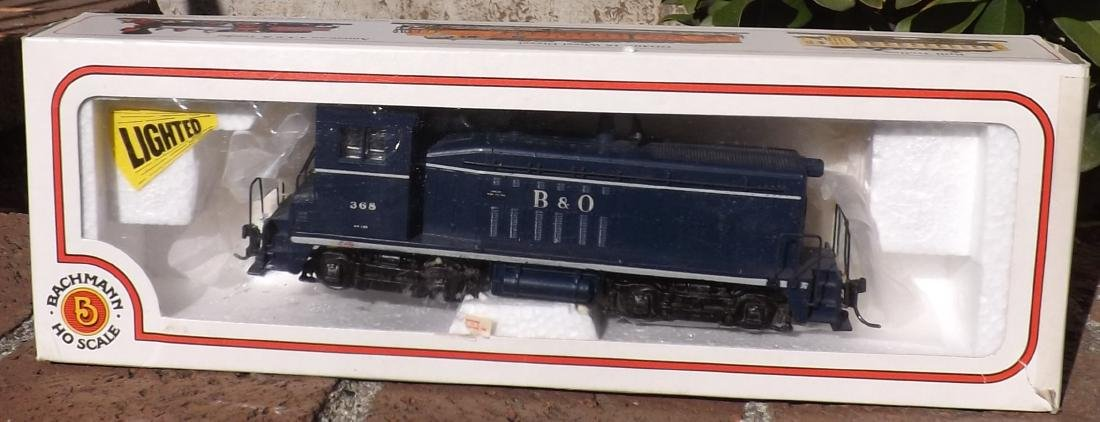 Bachman Baltimore and Ohio HO scale locomotive boxed,