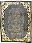 Hand made antique Art Deco Chinese rug 8.10' x 11.8' (
