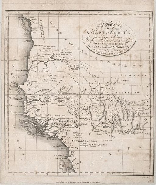 Map Of Africa During Slave Trade.1806 Durant Coastal Map Of Western Africa During Slave Feb 05