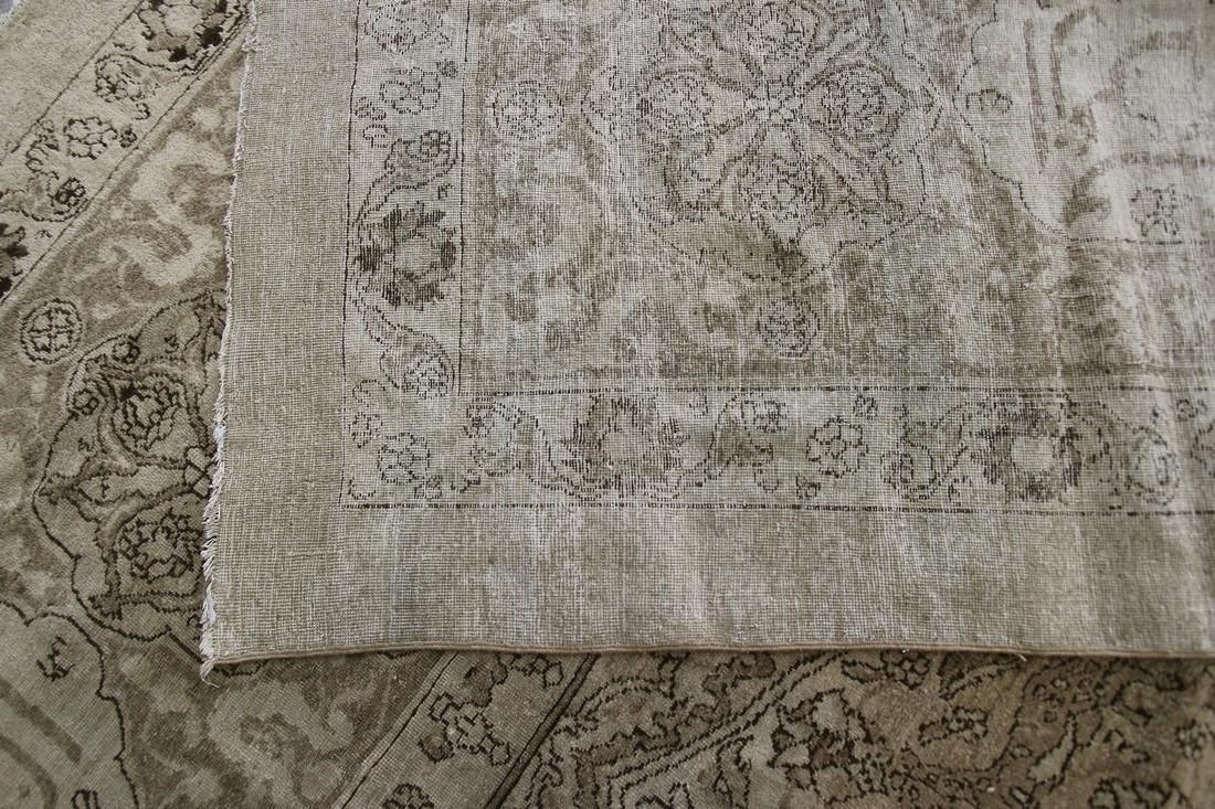 Antique Rare Agra Amritsar Rug Animal Design Poetry - 8