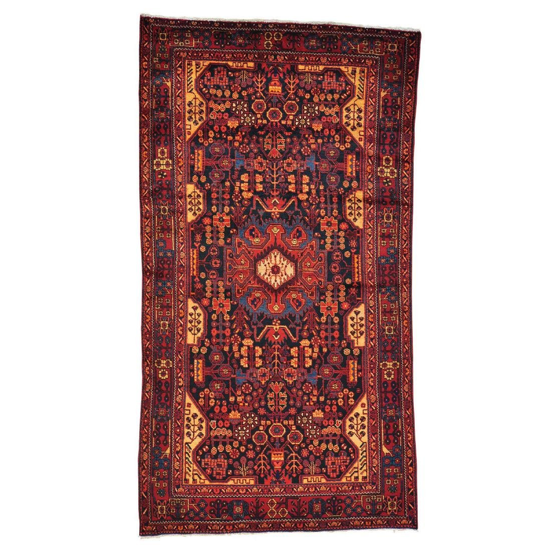 Full Pile Persian Nahavand Hand Knotted Wide Gallery