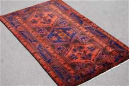 Fantastic Handmade Persian Kurdish Kolyaee 43x611