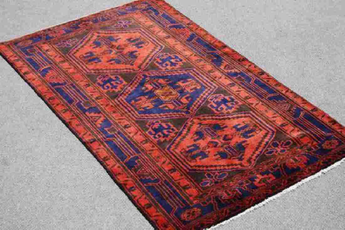 Fantastic Handmade Persian Kurdish Kolyaee 4.3x6.11