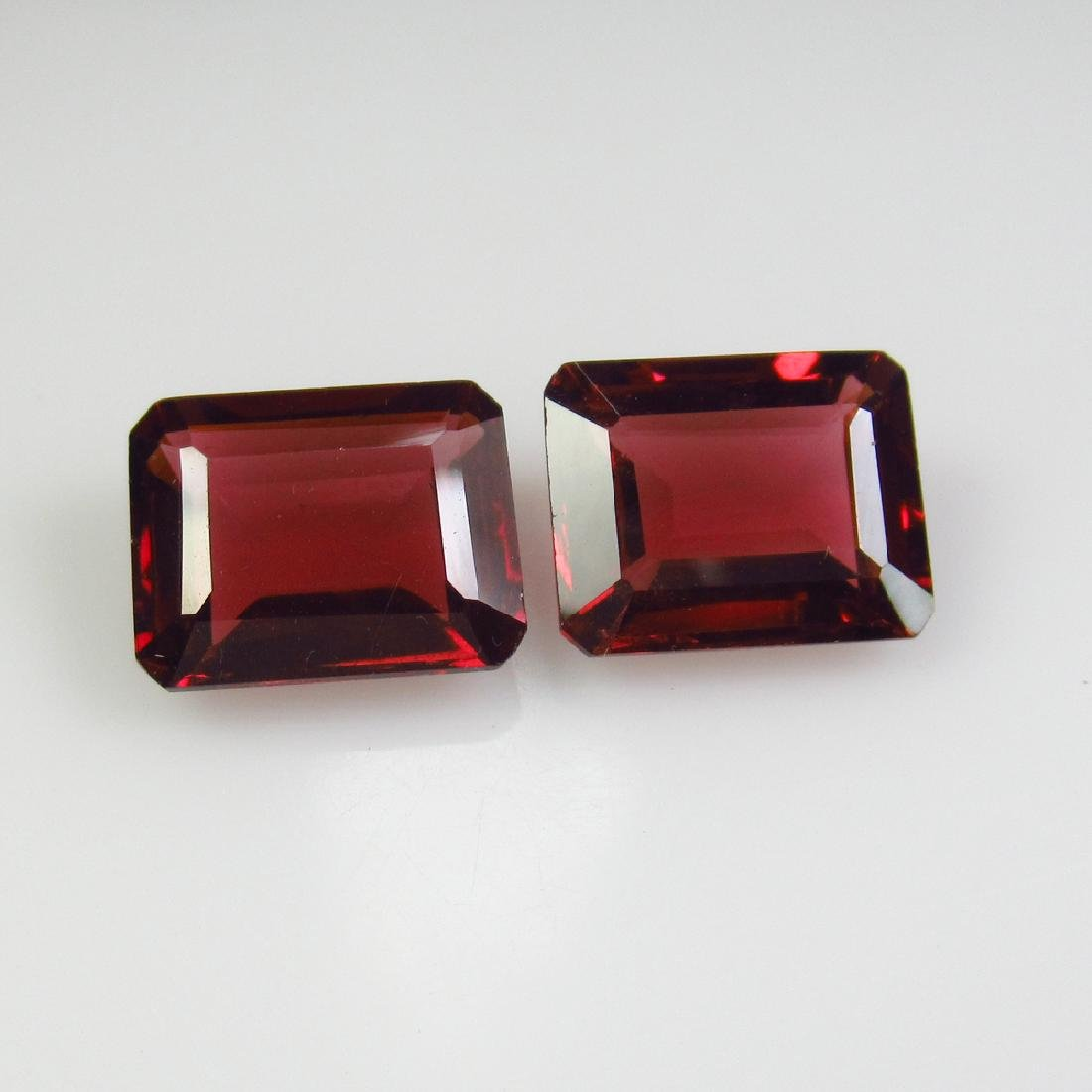 7.35 Ctw Natural Pink Rhodolite Garnet 10X8 mm Octagon