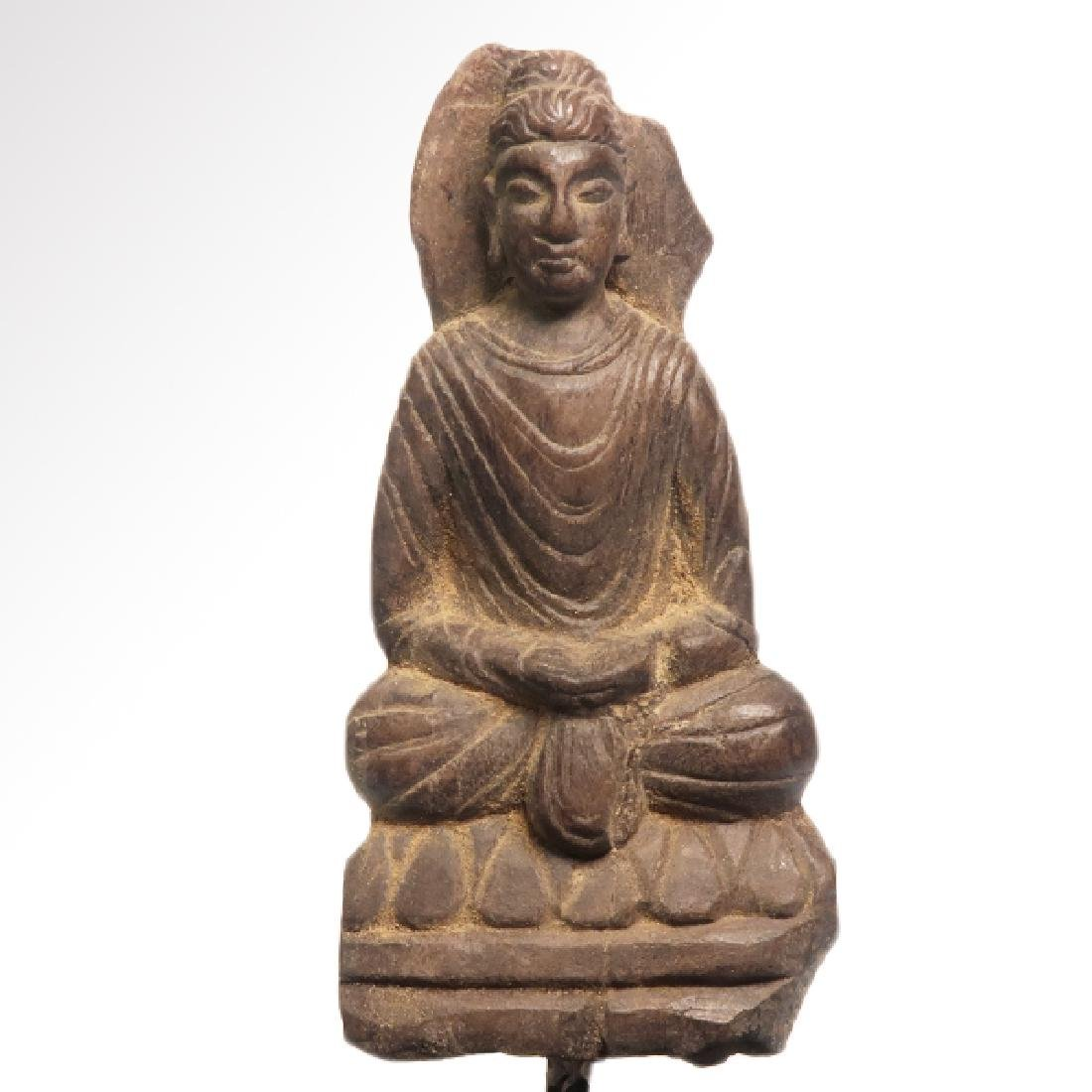 Gandhara Terracotta Figure of Buddha, c. 3rd-4th