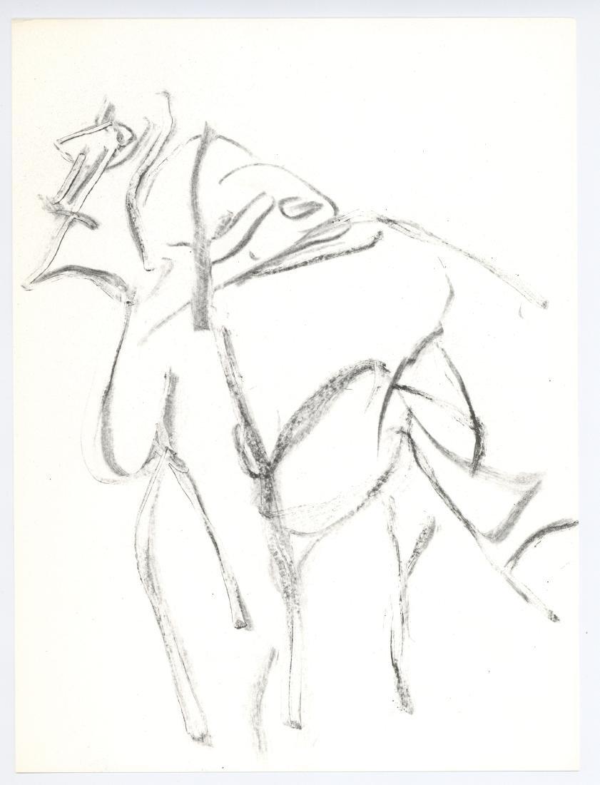 Willem de Kooning lithograph, 1967