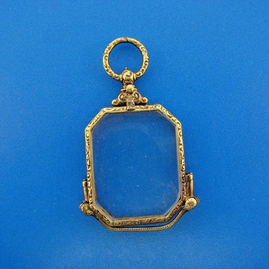 TIMELESS Victorian 14k Yellow Gold Lorgnette Glasses