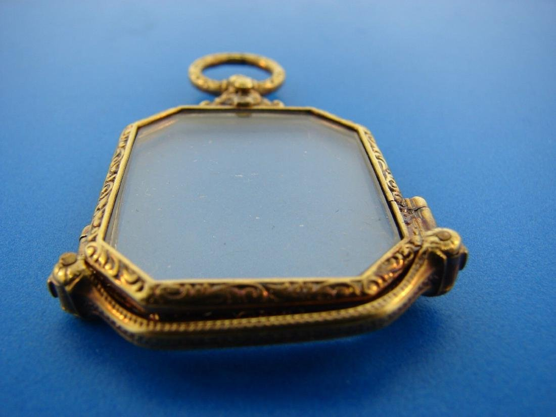 TIMELESS Victorian 14k Yellow Gold Lorgnette Glasses - 2