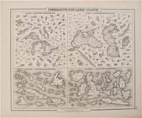 1855 Colton View of Lakes and Islands Globally --