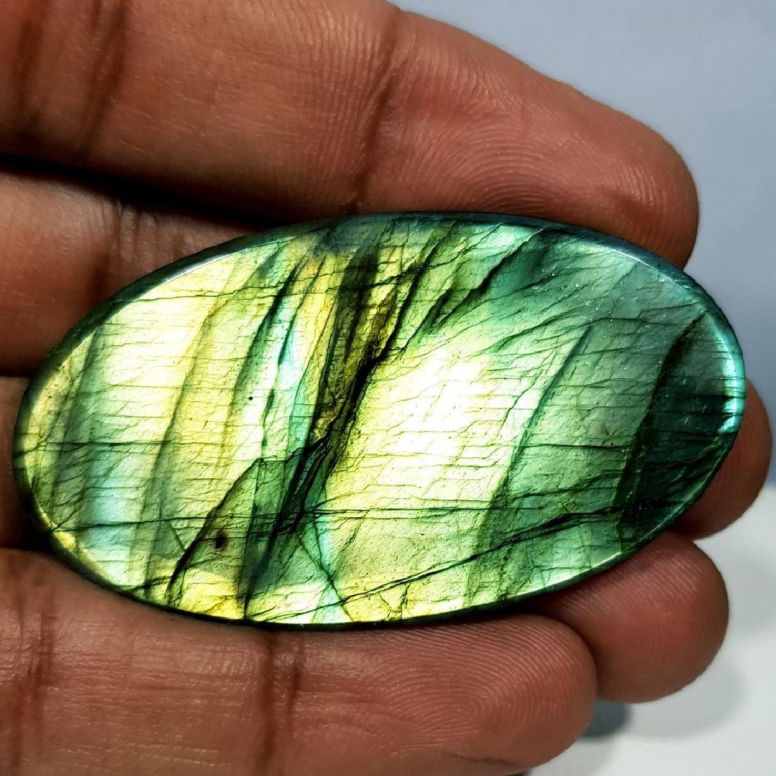 89.55 ct Natural Labradorite - 4
