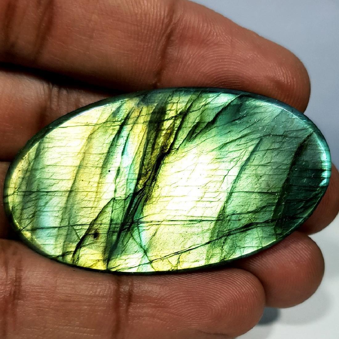 89.55 ct Natural Labradorite - 5