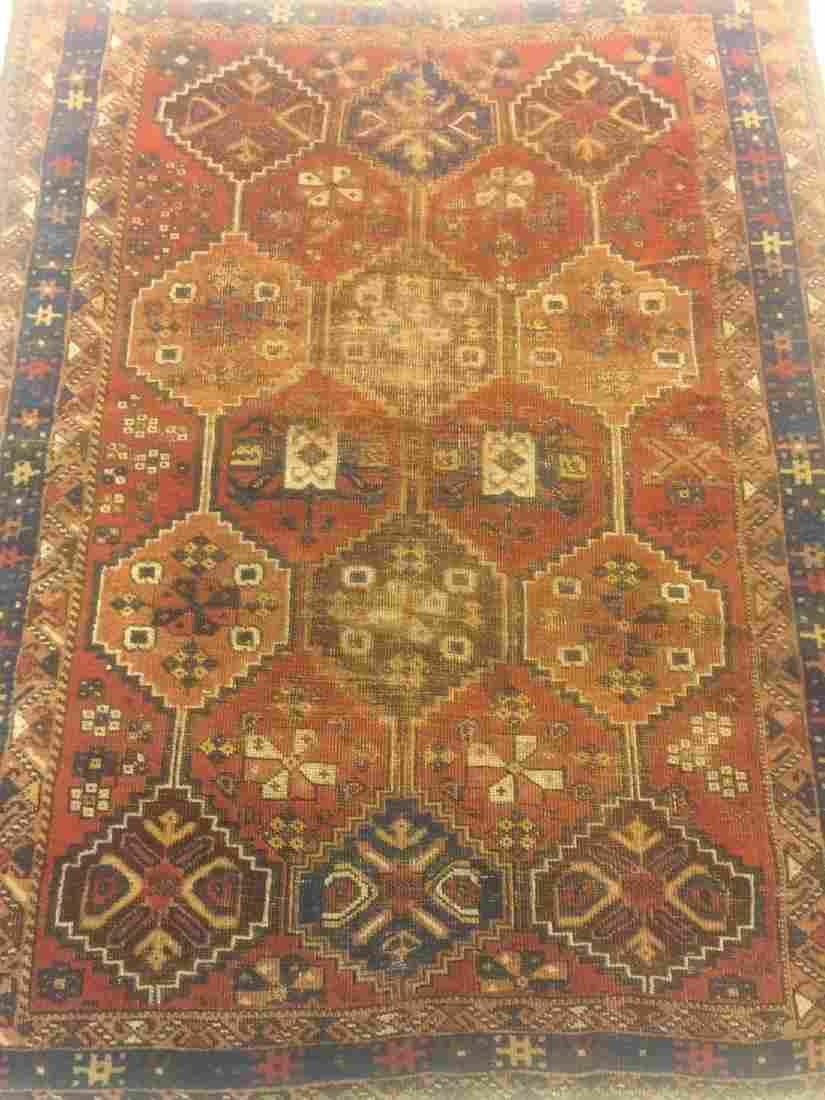 Semi Antique Persian Afshar 3.10x4.10