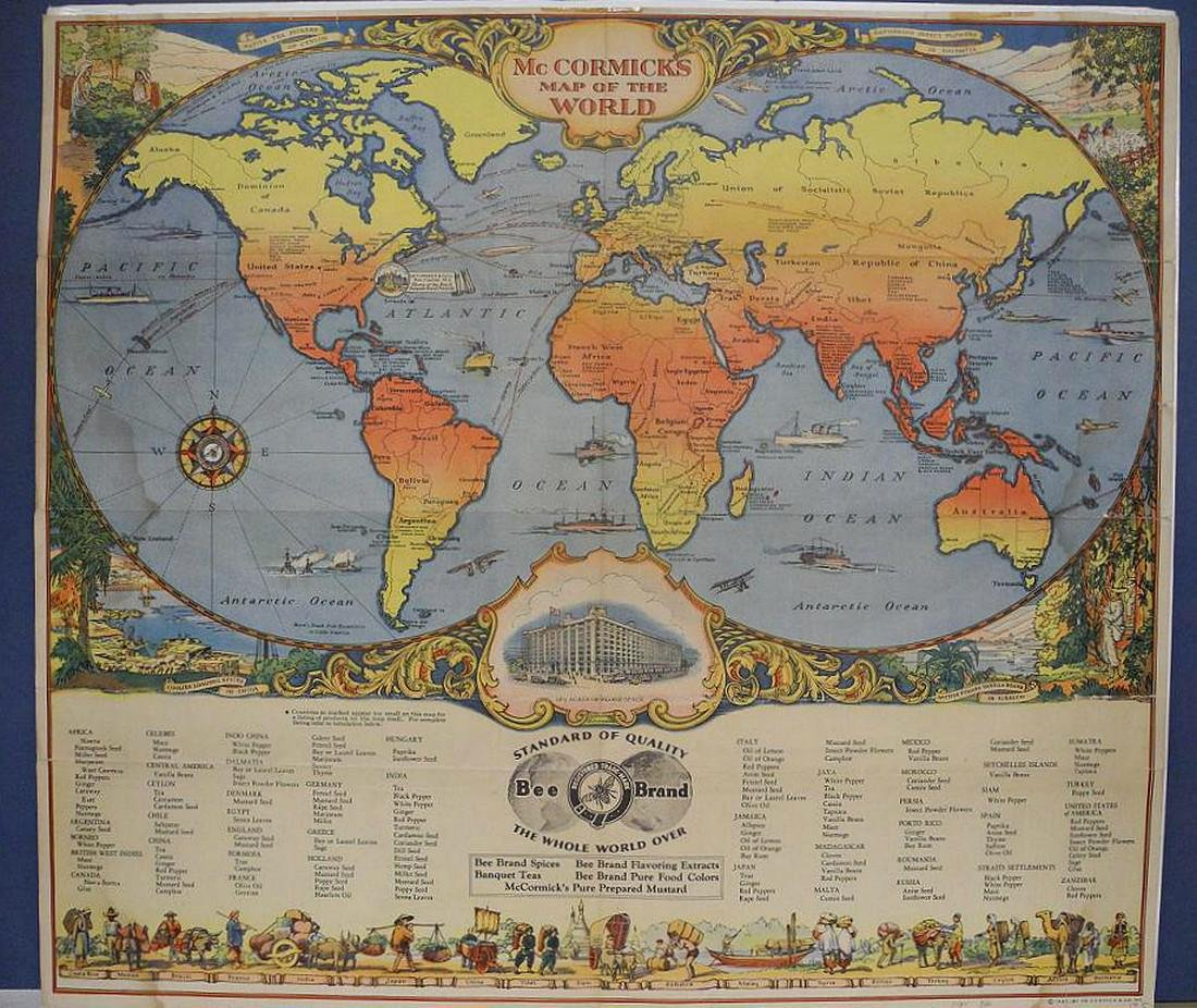 McCormick's Map of the World