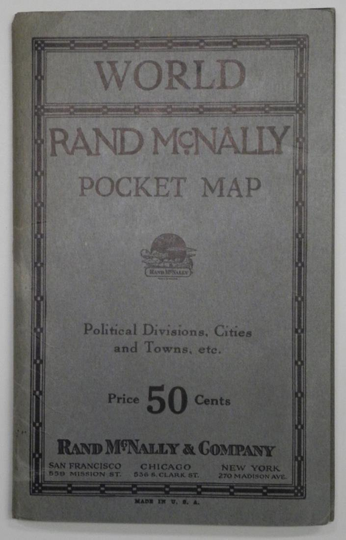 Rand McNally Standard map of the World
