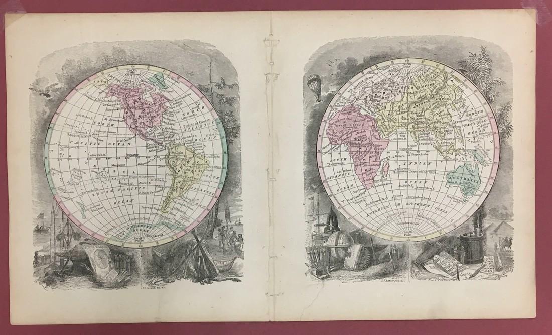 Untitled Circular World Map