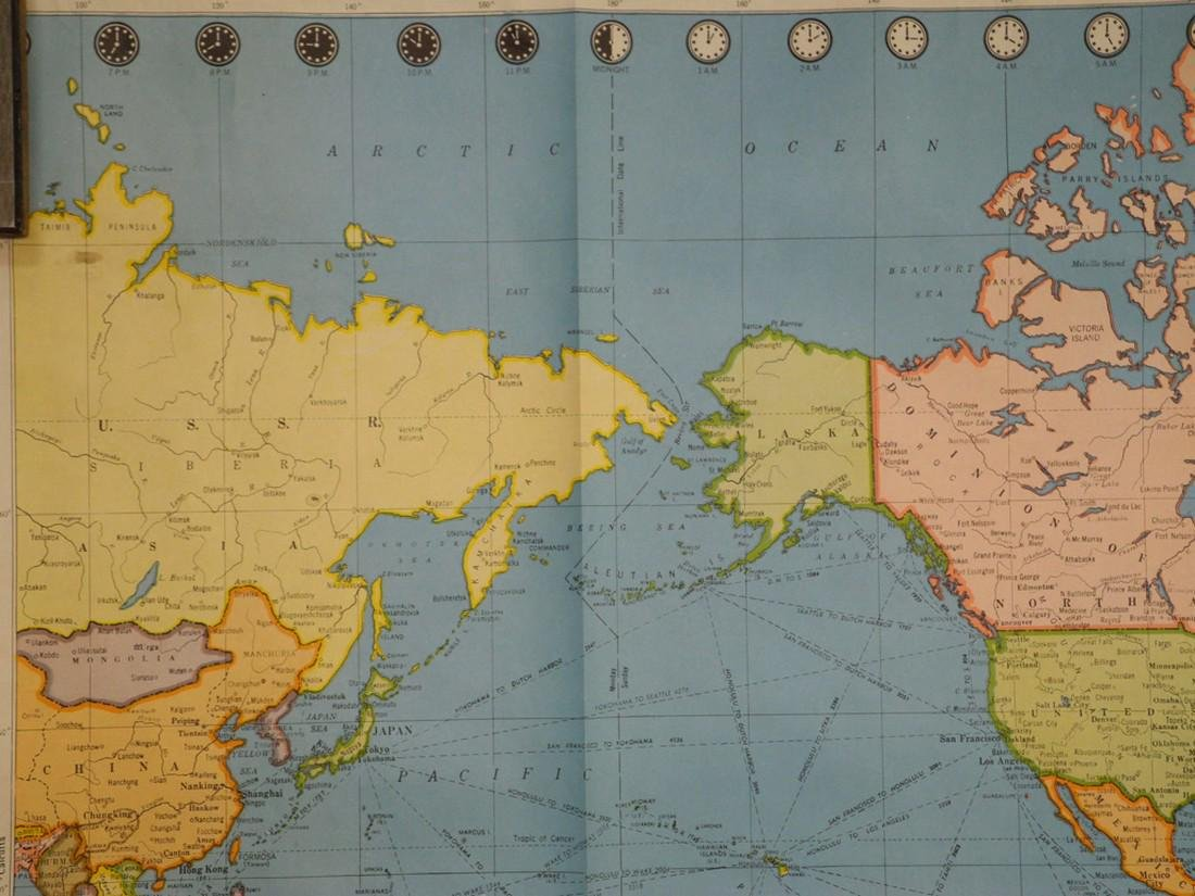 Colorprint General Map of the World On Mercator's - 4