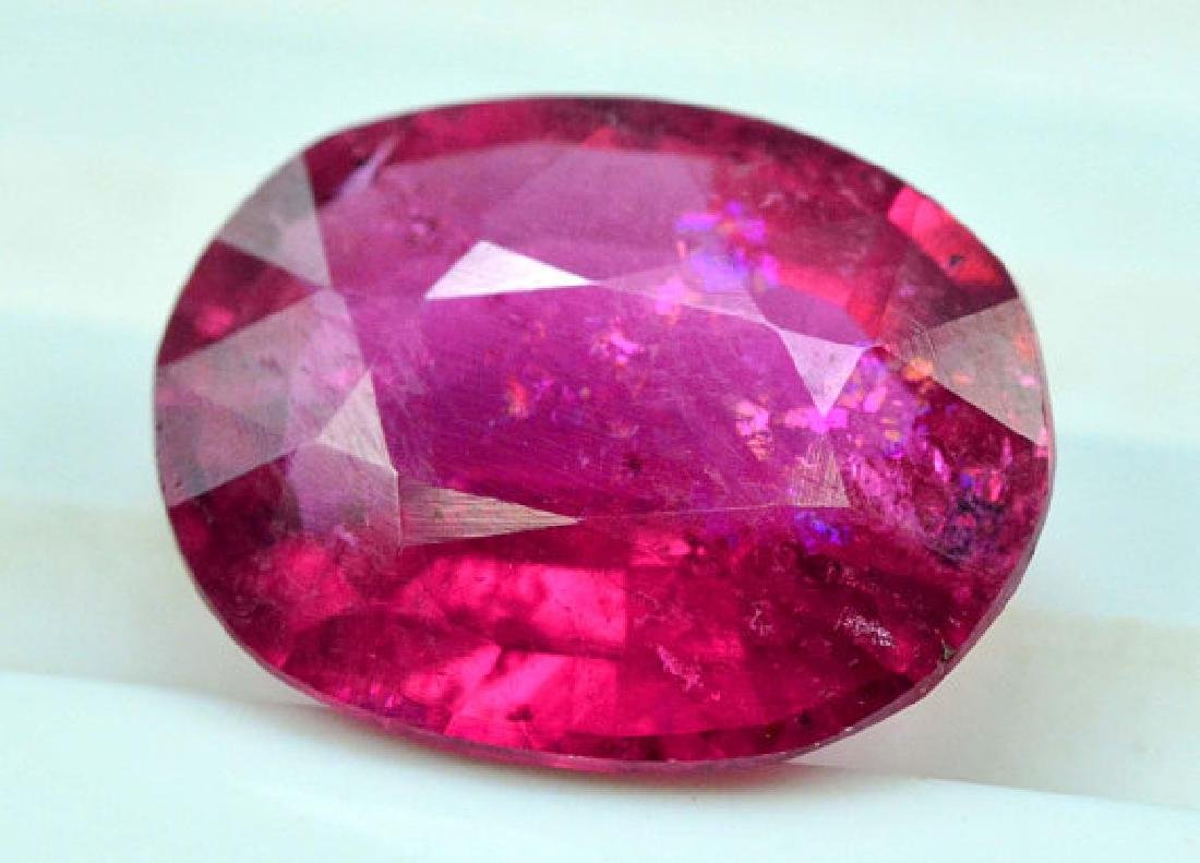3.55 cts Natural Untreated Rubelite Tourmaline from - 2