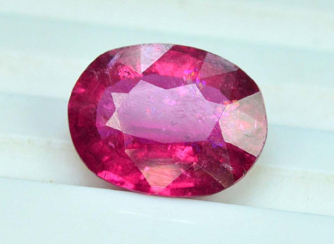 3.55 cts Natural Untreated Rubelite Tourmaline from - 3