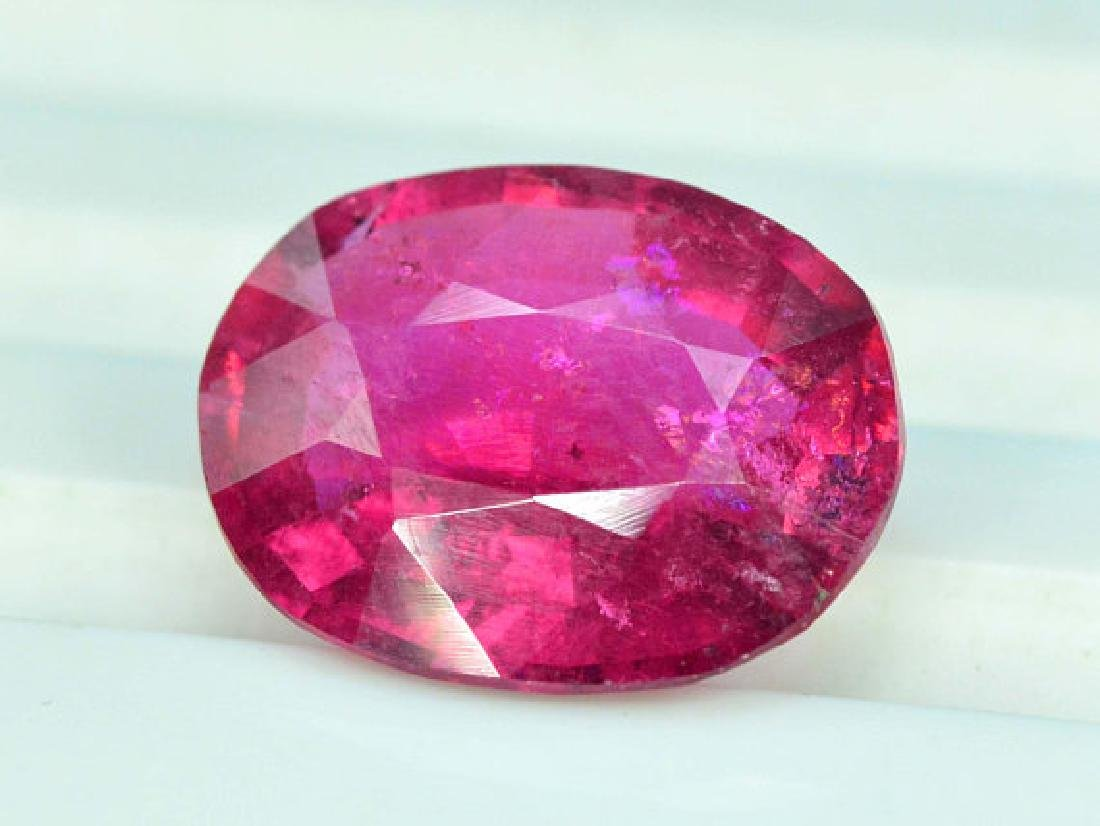 3.55 cts Natural Untreated Rubelite Tourmaline from - 4