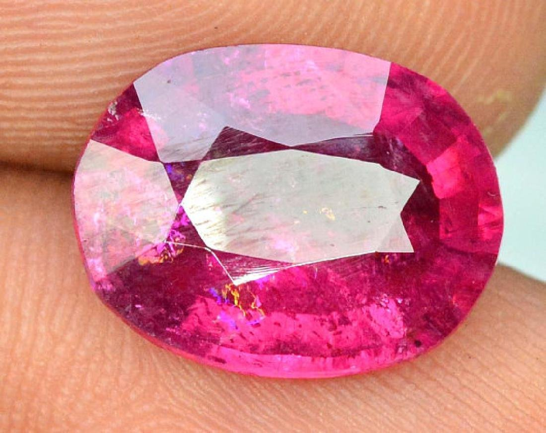 3.55 cts Natural Untreated Rubelite Tourmaline from - 6