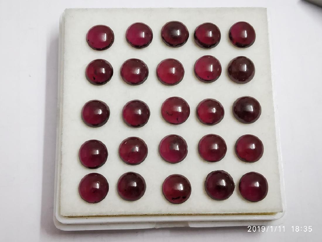 Natural Hessonite Cabochon Garnet Gemstone Wholesale - 2