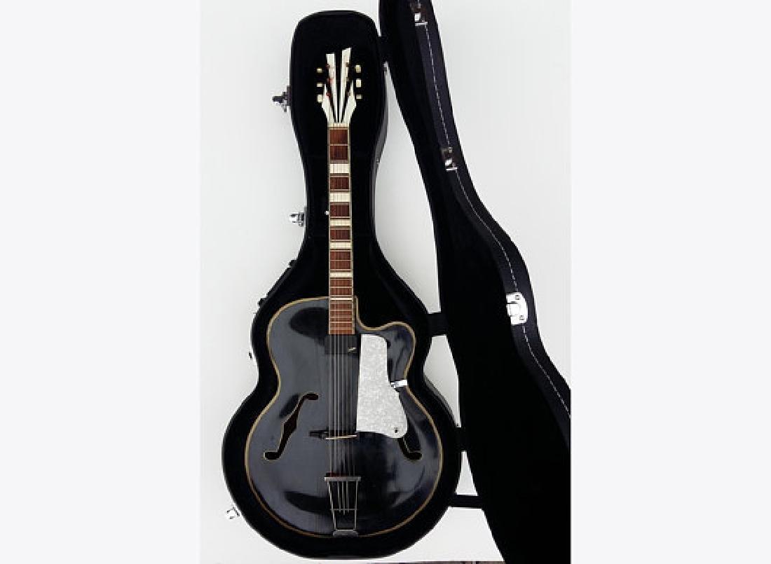 RODEBALD HOYER electro-acoustic Archtop Jazz 1958 +