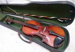 French VIOLIN 3/4 from Mirecourt , France circa 1920