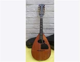 EMANUELE EGILDO antic concert mandolin + case