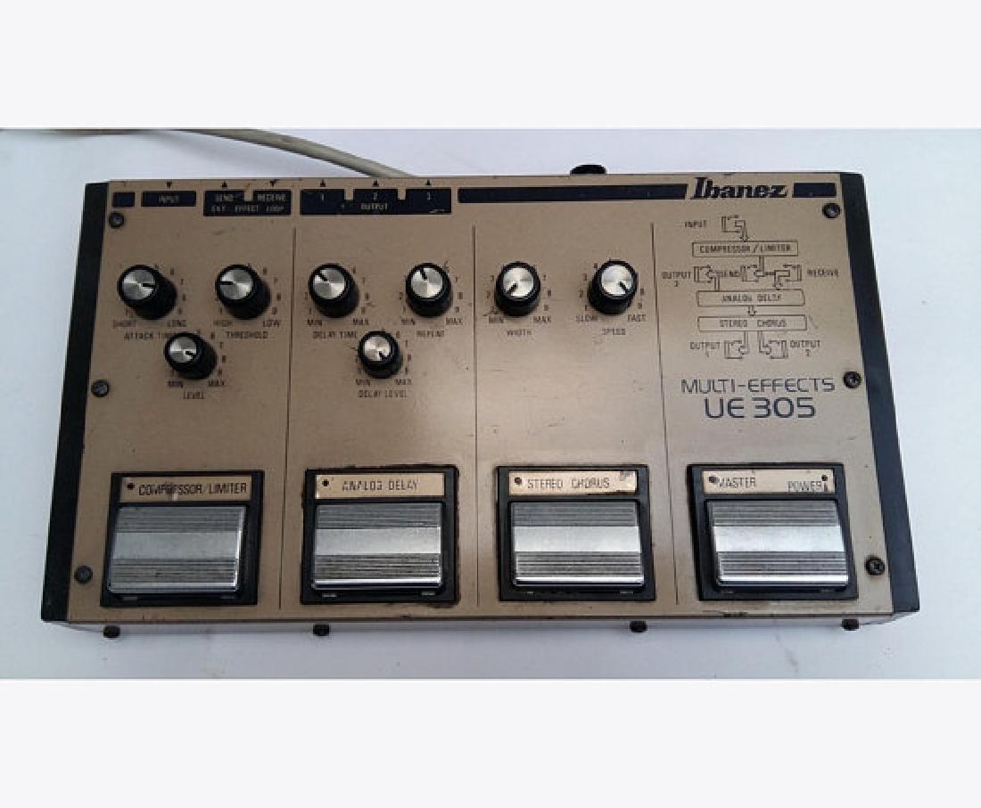 IBANEZ UE-305 analogic pedal  effects 1984