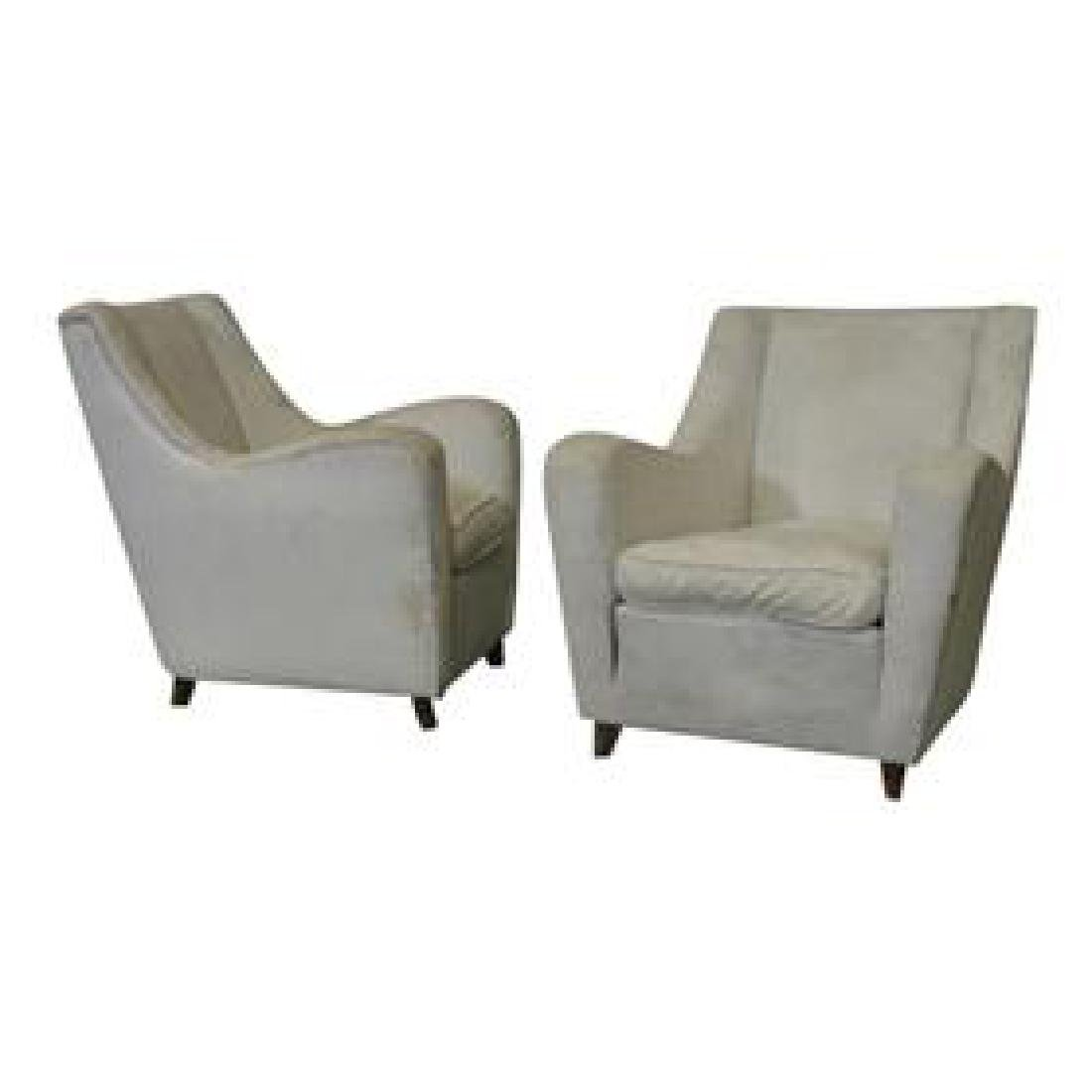 Pair Lounge Chairs