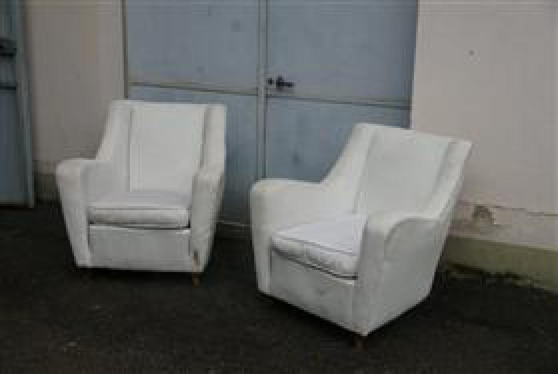 Pair Lounge Chairs - 4