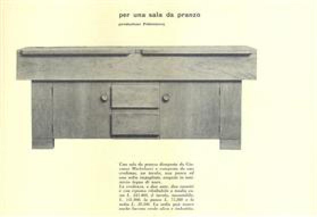 Giovanni Michelucci Sideboard - 9