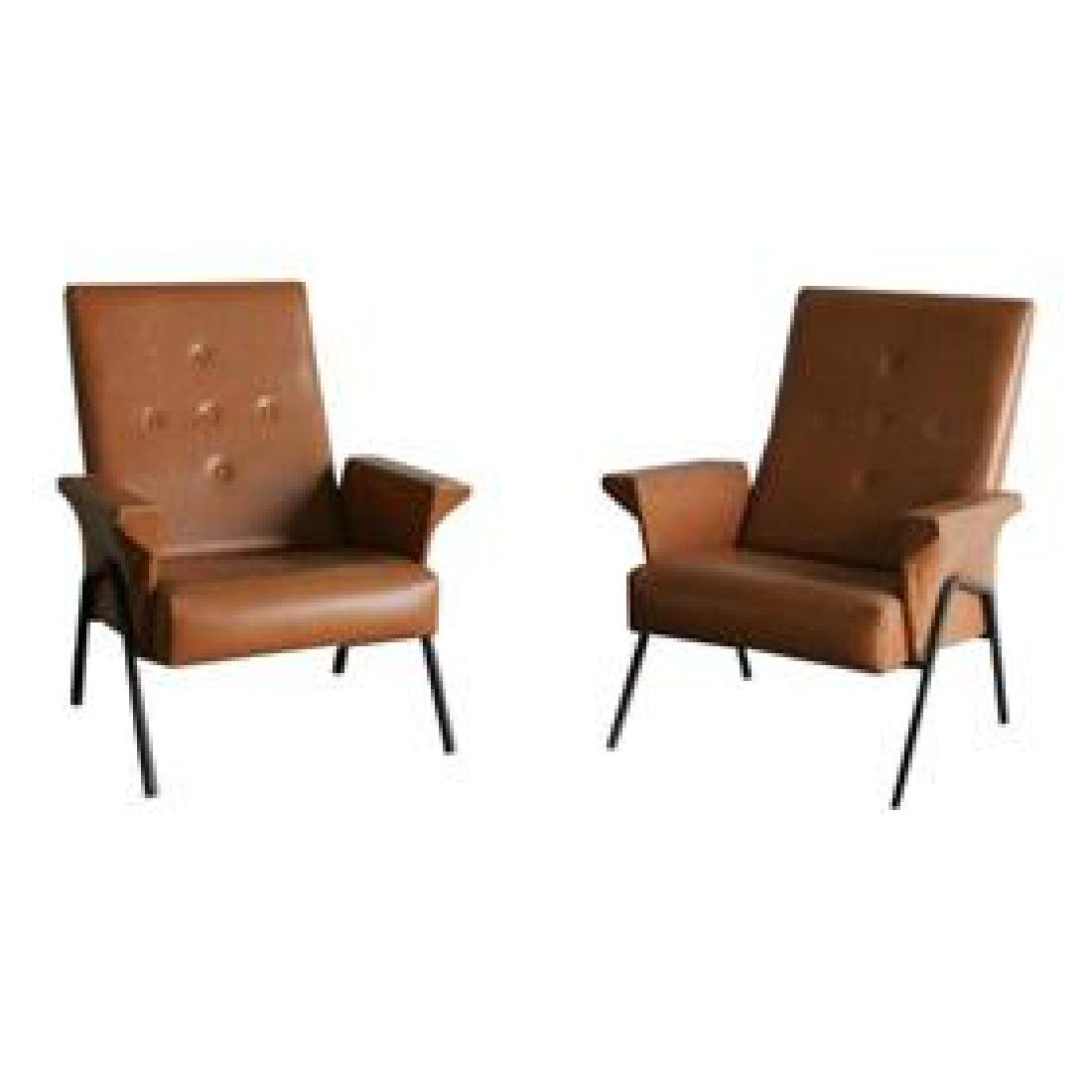 Pr. Med. Italian Lounge Chairs