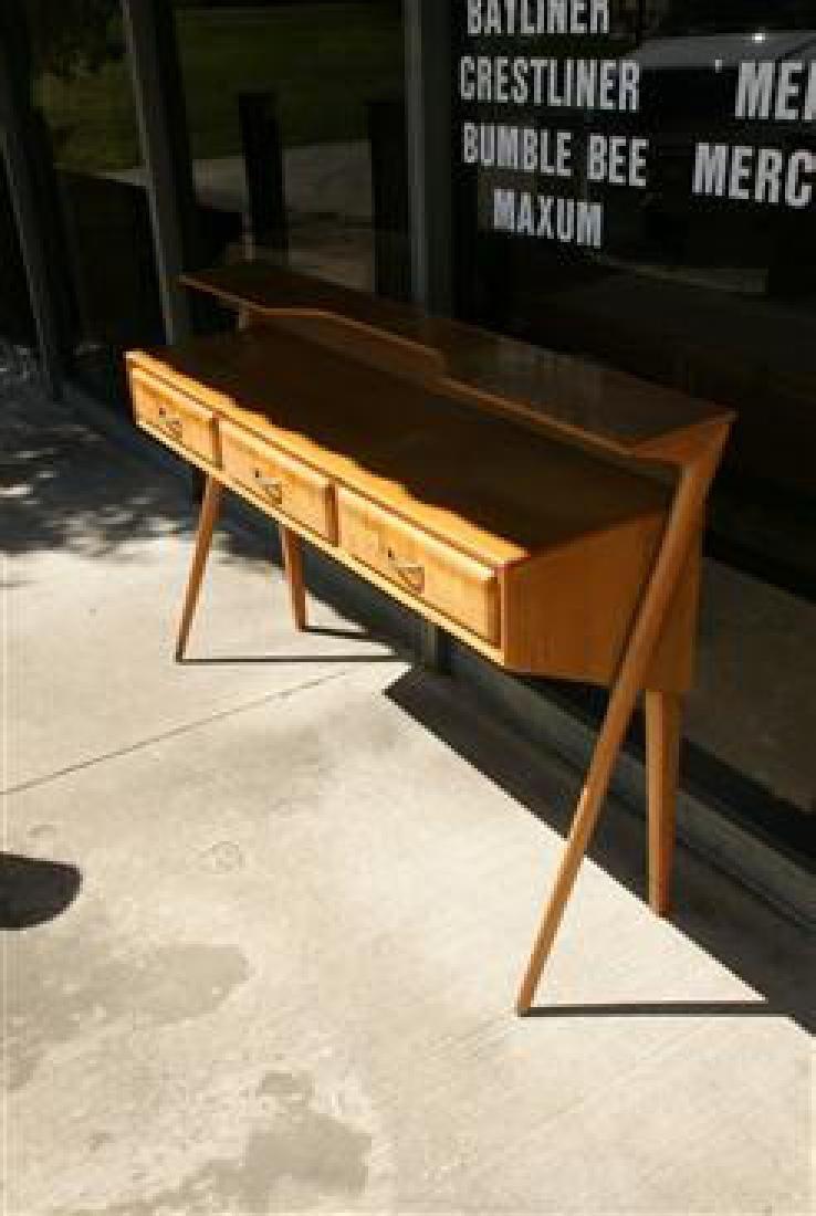 Cherry Wood Sideboard - 4