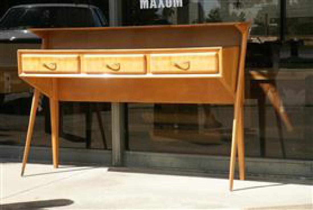 Cherry Wood Sideboard - 5