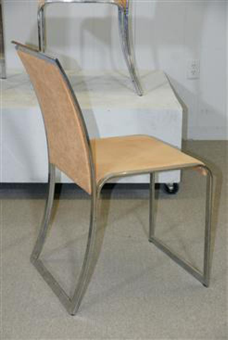 6 Dining Chairs by Saporiti - 2