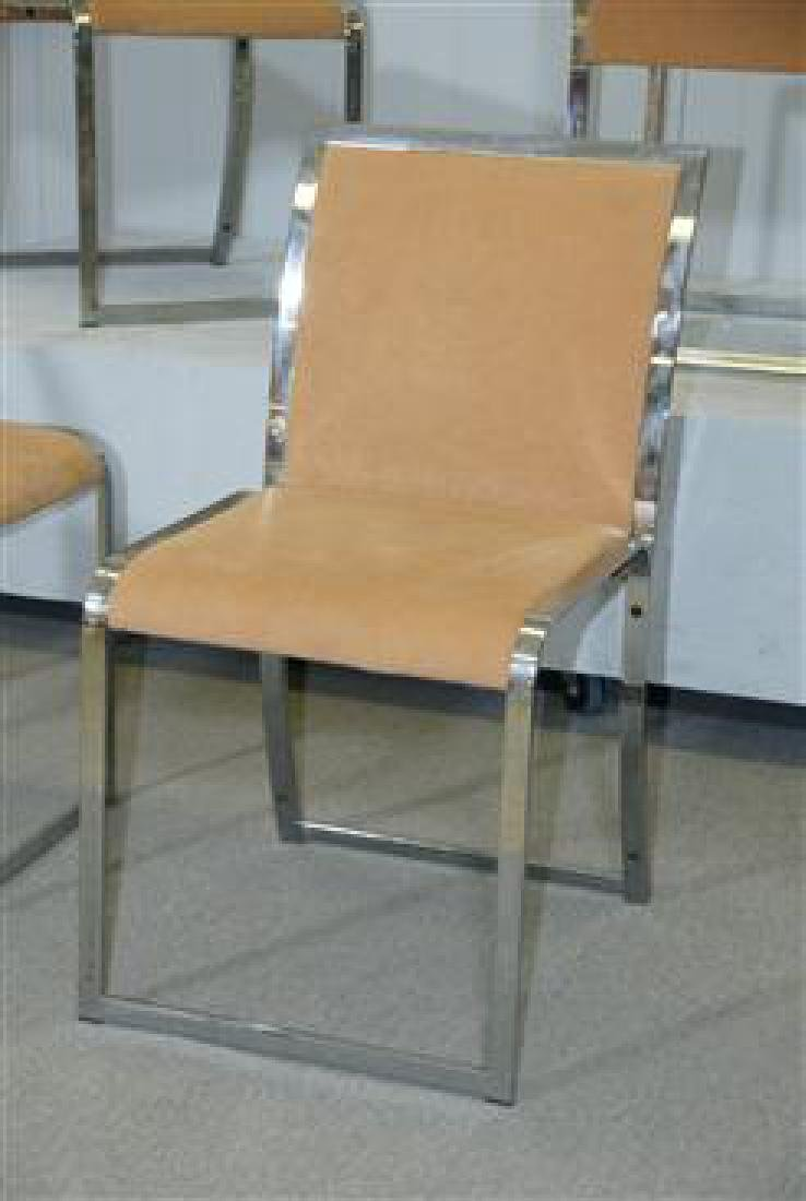 6 Dining Chairs by Saporiti - 3