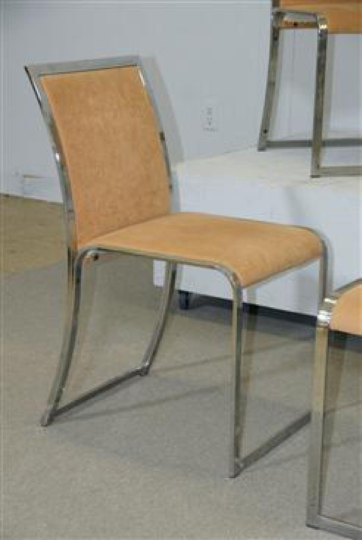 6 Dining Chairs by Saporiti - 4