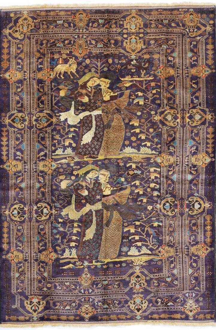 Antique Afghan Beluch Zakhini Rug