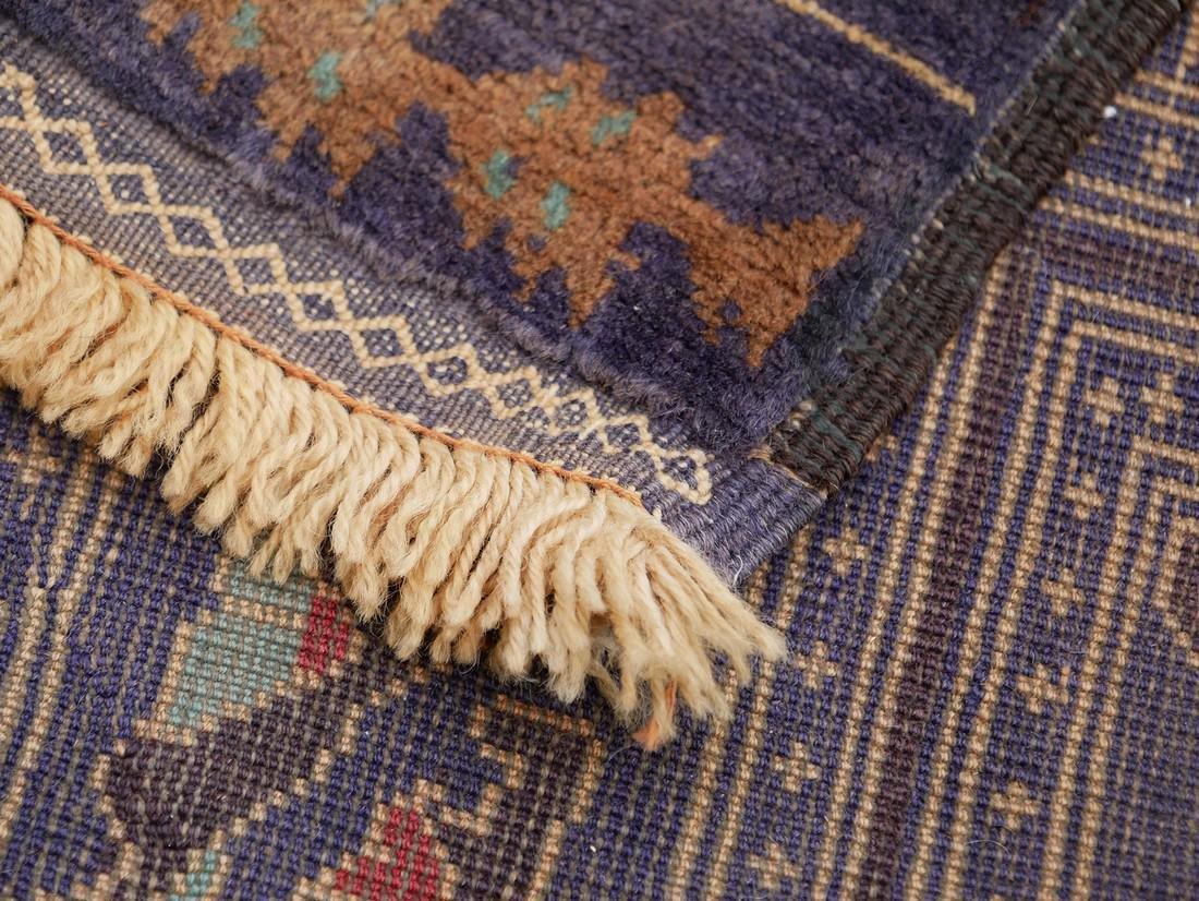 Antique Afghan Beluch Zakhini Rug - 7