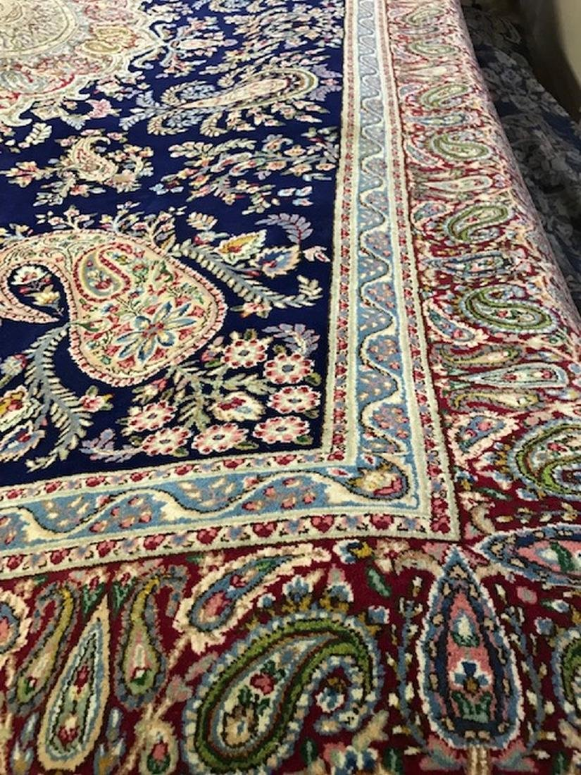 Fine Hand Made Persian Kerman Size 9x12 Feet - 2