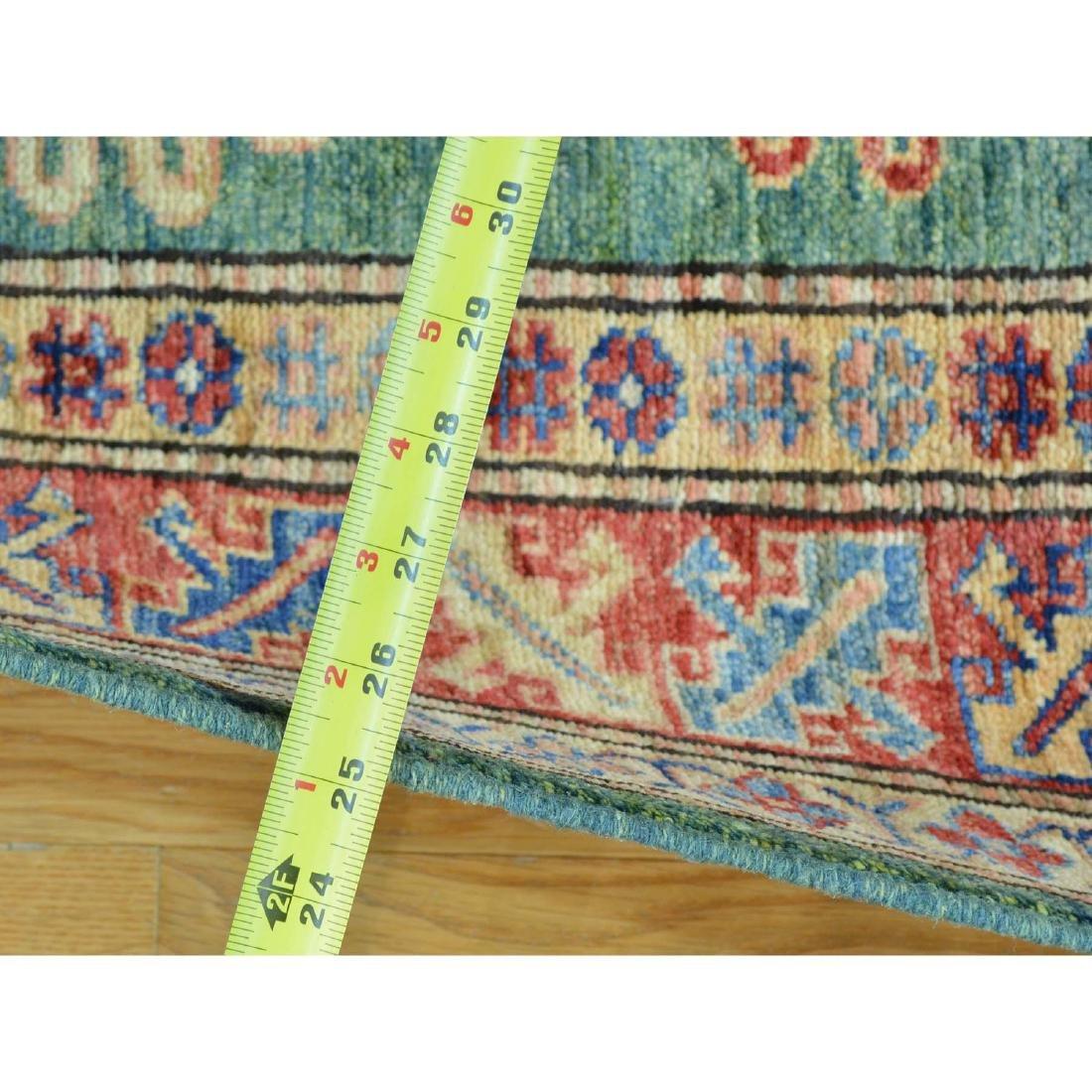 Super Kazak Hand Knotted Pure Wool Oriental Rug - 3