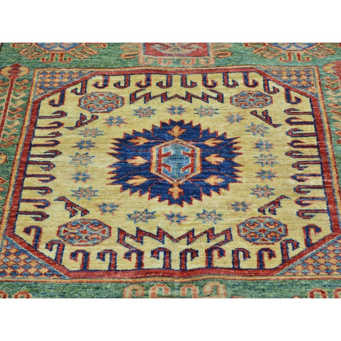 Super Kazak Hand Knotted Pure Wool Oriental Rug - 4
