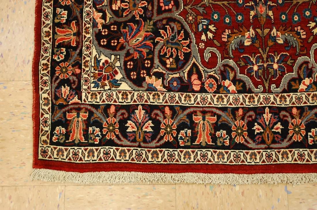 "Persian Heriz Serapi Runer  Rug 2' 6"" X 9' 7"" - 3"