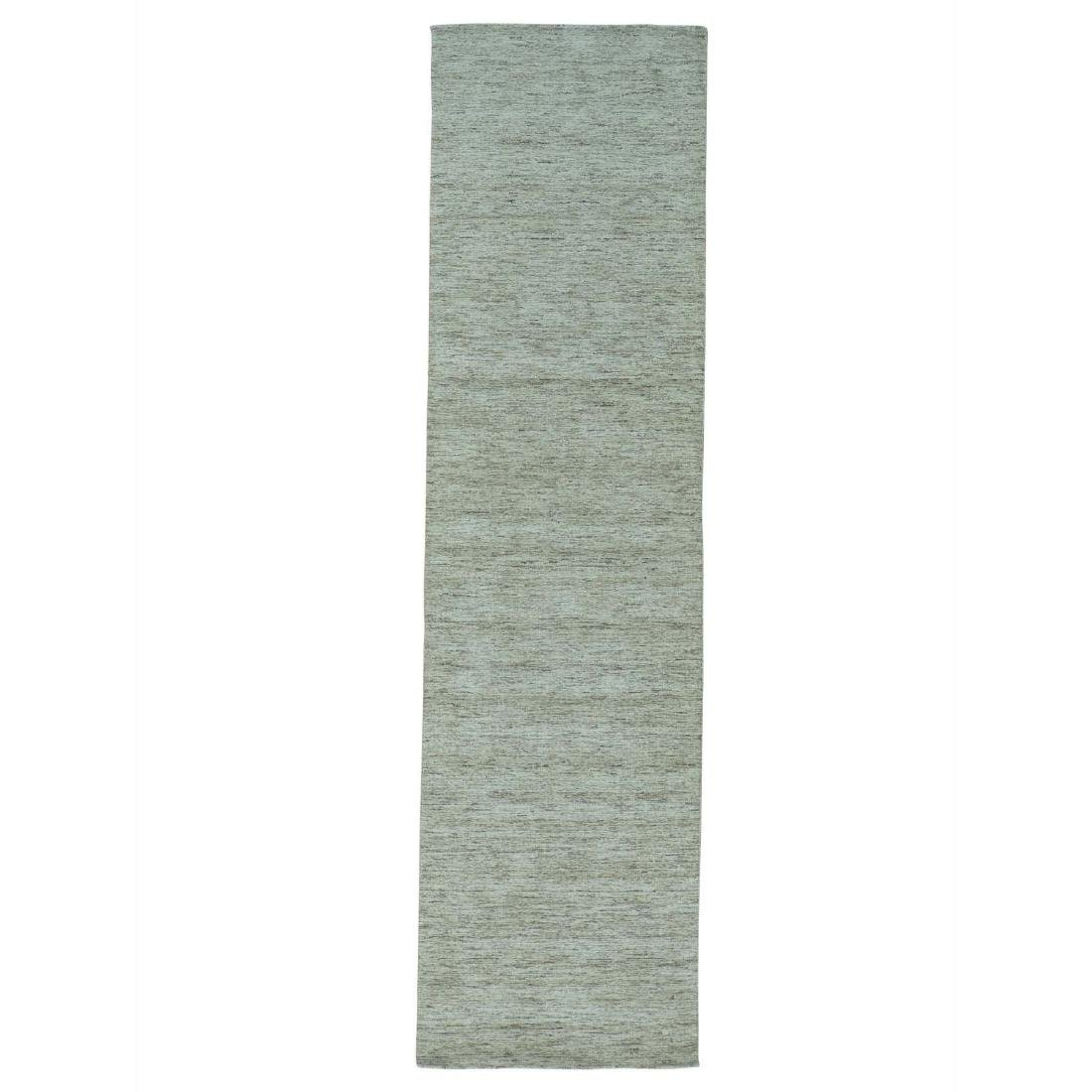 Thick And Plush Modern Hand Loomed Gabbeh Runner